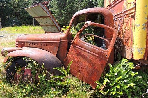 Truck, Rust, Old, Vehicle, Abandoned, Vintage, Car