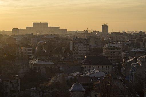 Bucharest, Roof, Architecture, Building, Romania