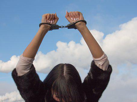 Shackles, Conclusion, Arrested Woman, Confinement