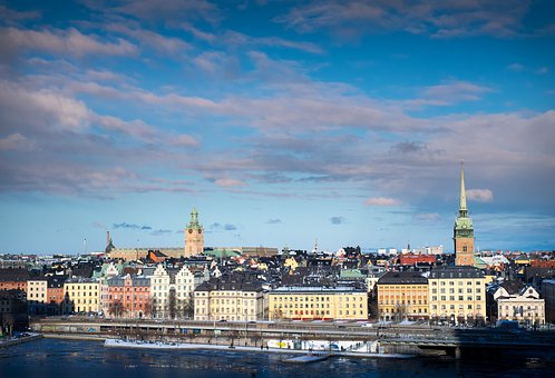 Stockholm, Sweden, North, Scandinavia, Water, Views
