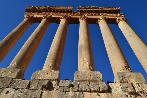 Baalbeck, Baalbek, Lebanon, Ruins, Architecture