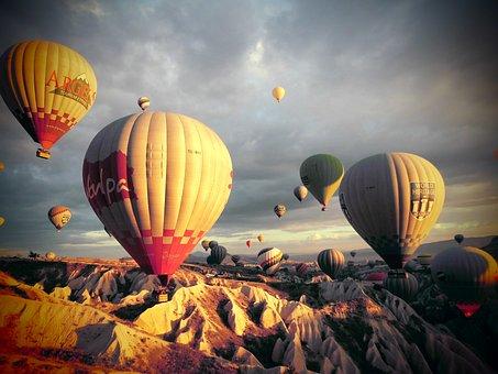 Turkey, Kia Cap-wave, Hot Air Balloon, Beolryun