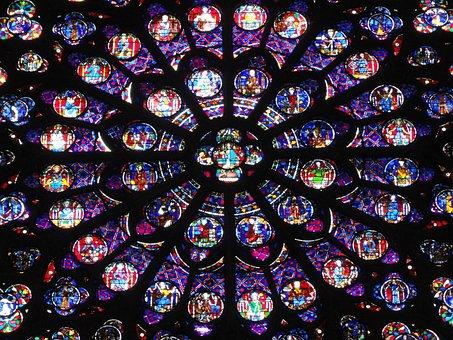 Paris, Notre Dame, Notre, Dame, Cathedral, Architecture