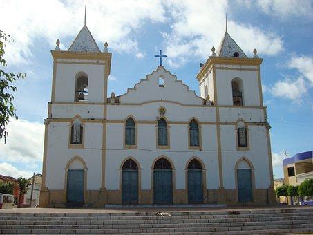 Church, Cajazeiras-pb, Center