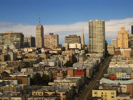 San Francisco, California, Usa, City, Buildings
