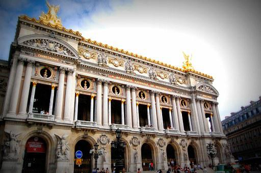 Paris, Opera, Music, France, Building