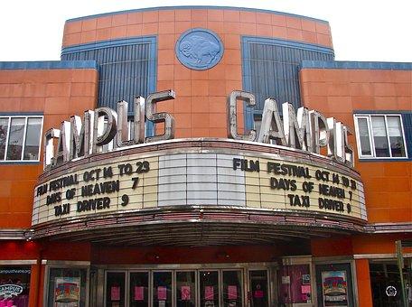 Lewisburg, Pennsylvania, Outside, Theatre, Movies