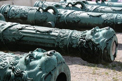Cannon, Ingolstadt, Parade Ground, Lion Head, Museum