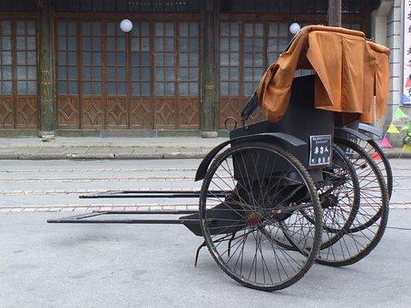 Rickshaw, Old Shanghai, Pier