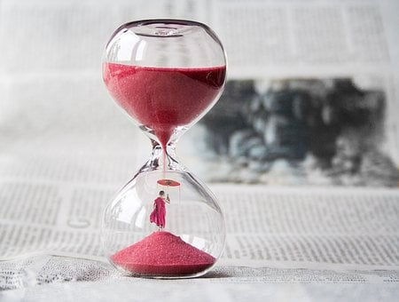 Hourglass, Clock, Sand, Time, Knapp, Minute, Timepiece