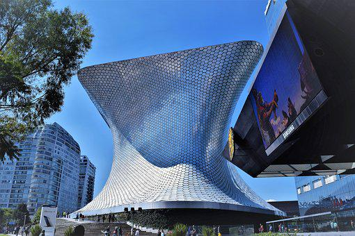 Cdmx, Mexico City, Museum, Soumaya, Architecture
