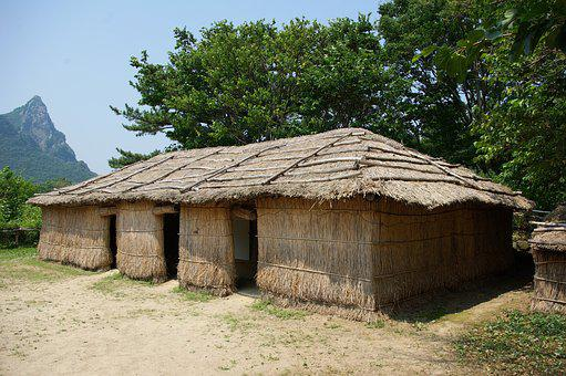 19, To Just Home, Rice-straw, Home, Traditional Houses