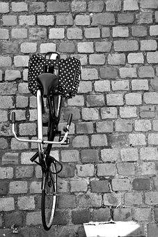 Pavement, Bike, Transport, Bicycle, Sidewalk, Paris