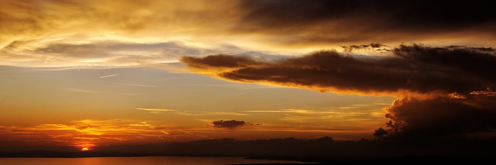 Energy, Sun, Sonnennuntergang, Sky, Twilight