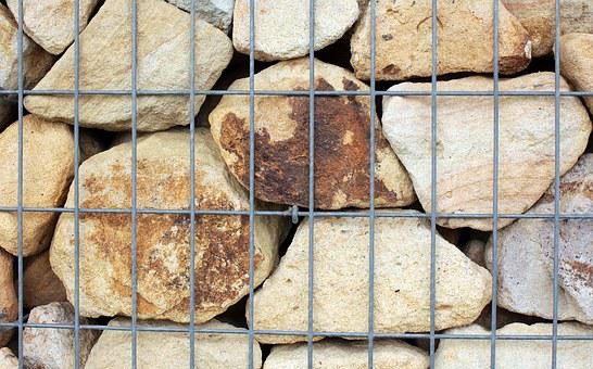Wall, Stone Wall, Stones, Natural Stone, Beige, Brown