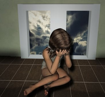 Child, Traumatized, Fear, Abuse, Victims, Violent