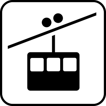 Cablecar, Cableway, Cable Car, Funicular, Teleferic