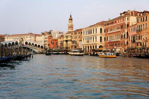 Venice, Canale Grande, Markus Bridge