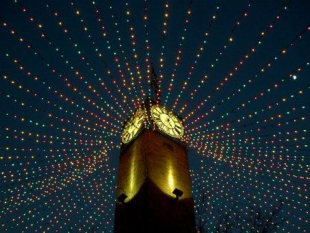 Christmas, Fairy Lights, Holidays, Winter, Chris
