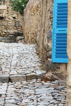 Pane, Corsican, Blue, Landscape, Summer, Turquoise