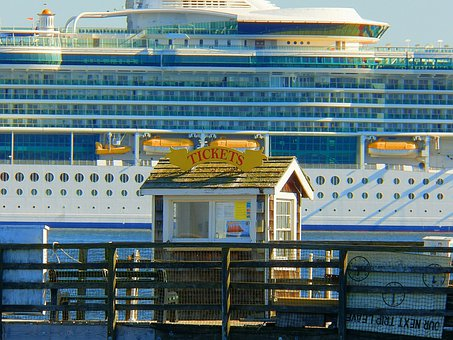 Ticket Booth, Tickets, Pier, Port, Dock, Travel, Boat