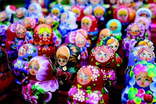 Doll, Dolls, Matriosca, Toy, Marionette, Toys, Children