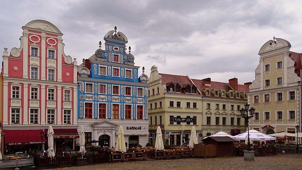 Poland, Stettin, At The Old Town Hall