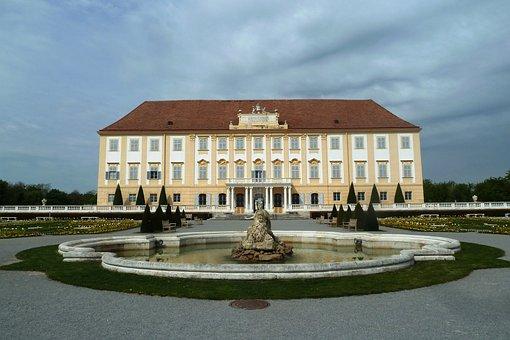 Castle Court, Fountain, Residence, Castle
