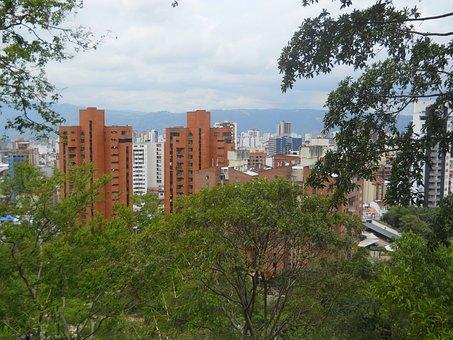 Bucaramanga, Buildings, City, Urban, Skyline, Colombia