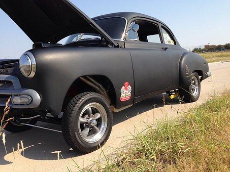 Gasser, Chevy, Vintage, Straight Axle
