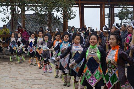 Dance, National, Hand, Beauty, Women, Asia