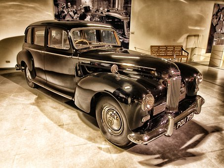 Humbler, 1954, Car, Auto, Hdr, Automobile, Vehicle