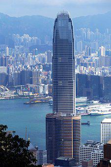 Hong Kong, China, Skyscraper, Asia, City, Big City