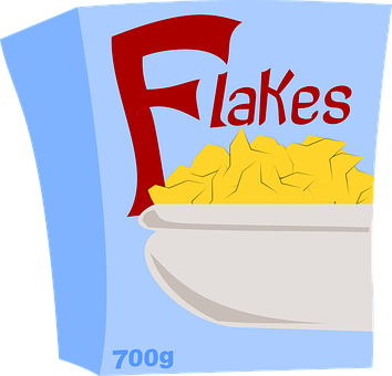 Corn Flakes, Cereals, Breakfast, Food, Flakes