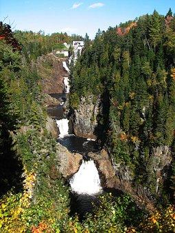 Fall, Colors, Waterfall, Autumn, Nature, Foliage