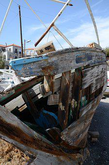 Kotronas, Laconia, Greece, Wreck