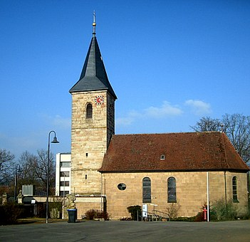 Hausen, Church Of St Wolfgang, Building