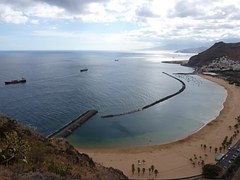 Tenerife, Beach, Teresitas, Nature, Is, Landscape, Sea