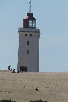 Knude Rubjeg, North Jutland, Lighthouse, Beach, Dune