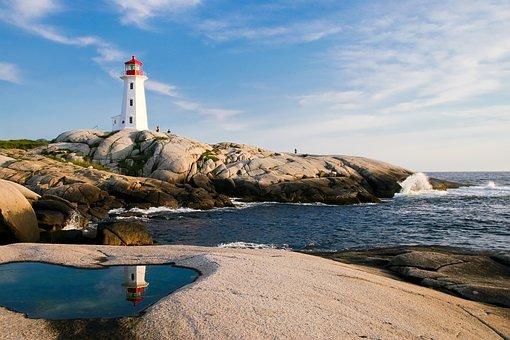 Lighthouse, Ocean, Sea, Coast, Travel, Nautical, Light