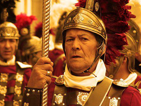 Roman Soldier, Rome, Arde Lucus, Lugo, Galicia
