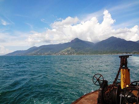 Ilhabela, Mar, Ferry