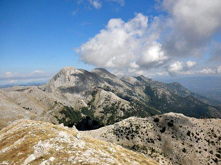 Taygetus, Laconia, Greece, Landscape, Mountain