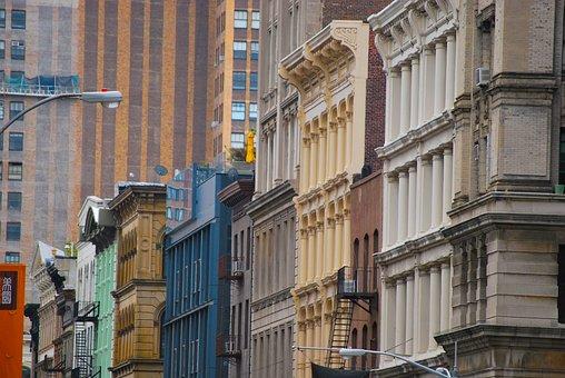 New York, Soho, Buildings, Vintage