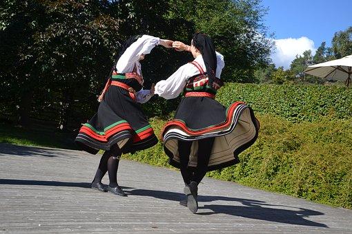 Folk Dance, Norwegian, Open Air Museum