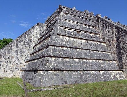 Mexico, Chichen Itza, Pyramid, Maya, Ruins