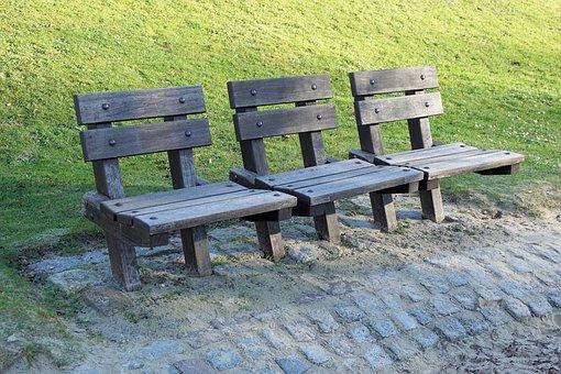 Park Bench, Bank, Park, Sit, Seating Furniture, Rest