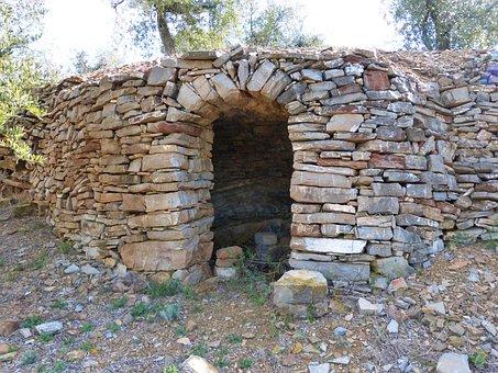Cabana De Volta, Barraca, Stone Building, Rural