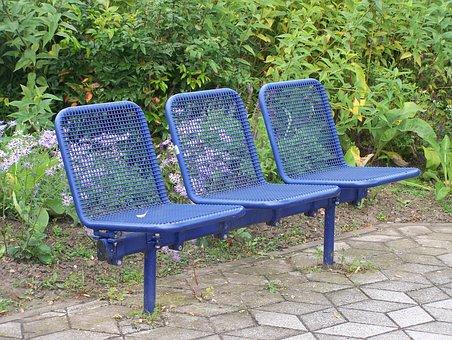 Seat, Bank, Out, Park Bench, Sit, Bench, Seat Set