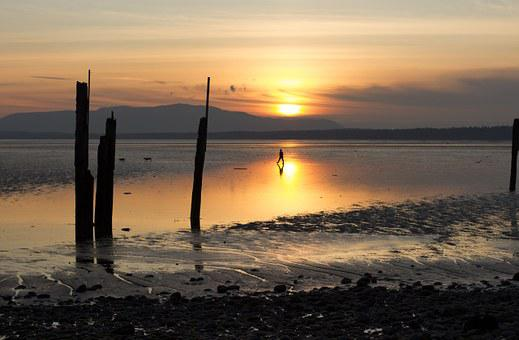 Sunset, Bellingham Bay, Waterfront